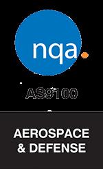 NQA AS9100 Aerospace and Defense Logo